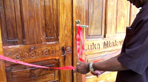 The District Commissioner of Mpwapwa Officially Opens the New Wing