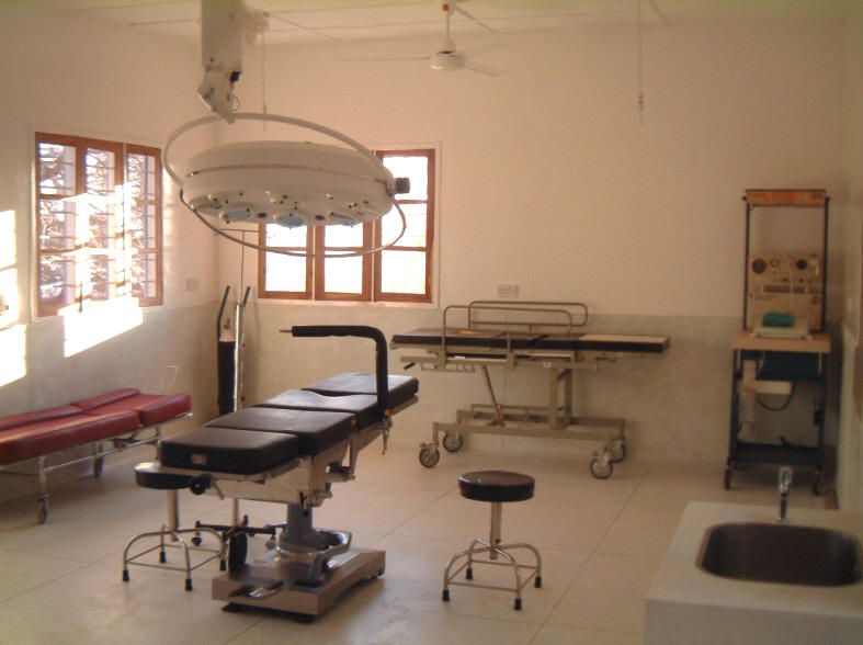 The Completed Maternity (Minor Ops) Theatre